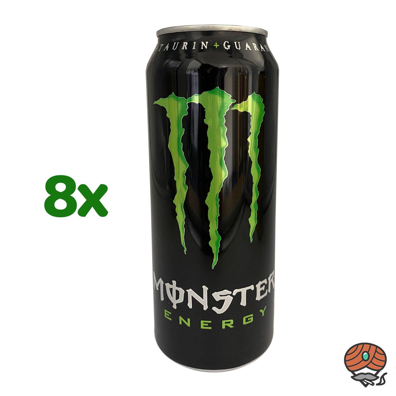 8 x Monster Energy Drink, 500 ml Dose