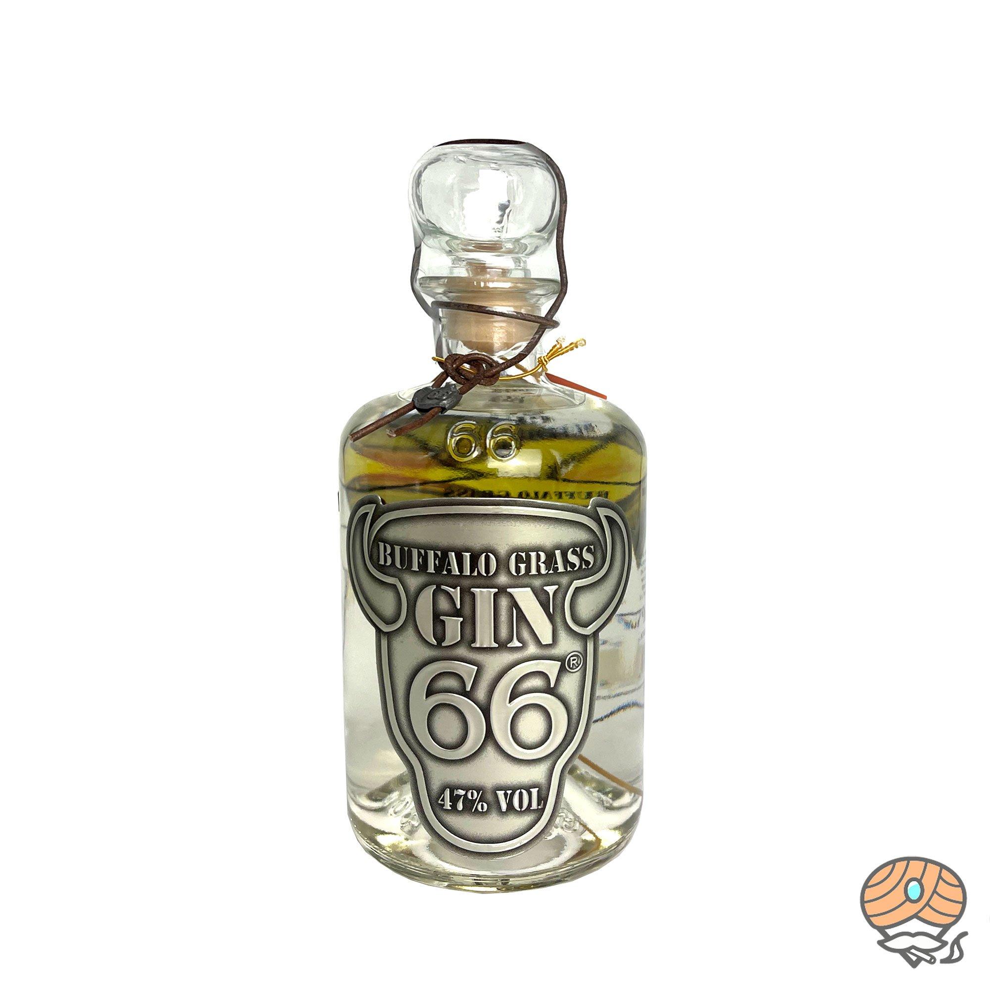 Gin 66 Buffalo Grass Inhalt 500ml, 47% Vol alc.