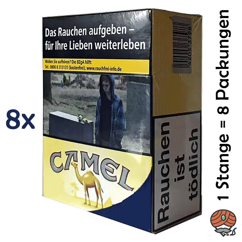 1 Stange Camel Yellow Zigaretten XXXXL Packung 8x34 Stück