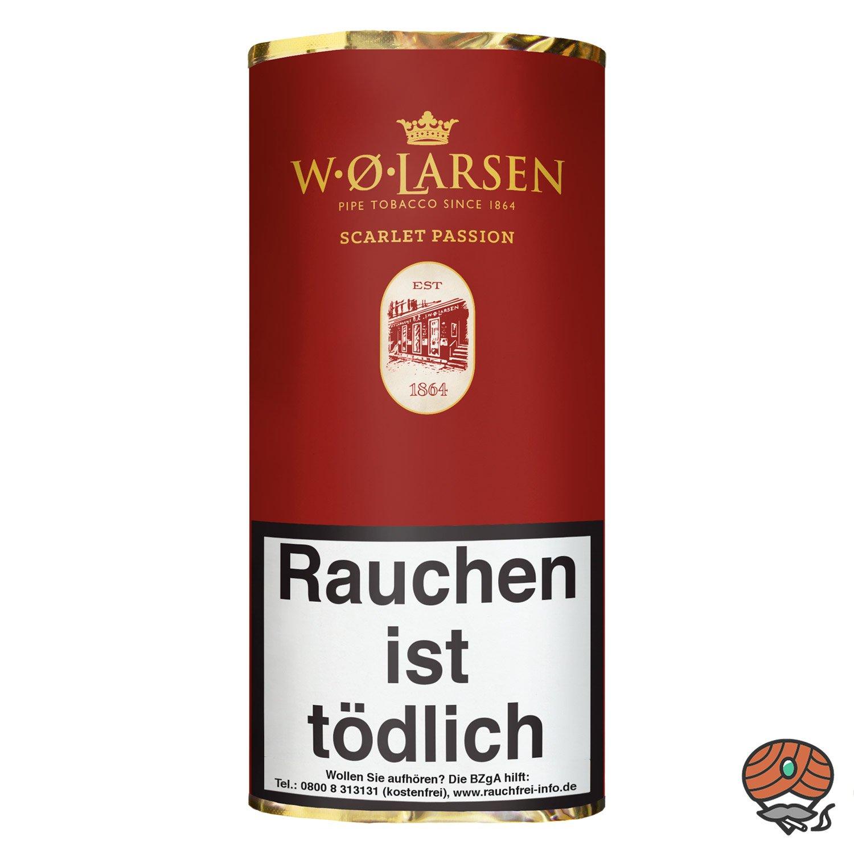 W.Ø. LARSEN Scarlet Passion Pfeifentabak 50g Pouch / Beutel