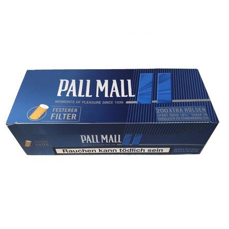 200 Pall Mall Blue Xtra Filterhülsen
