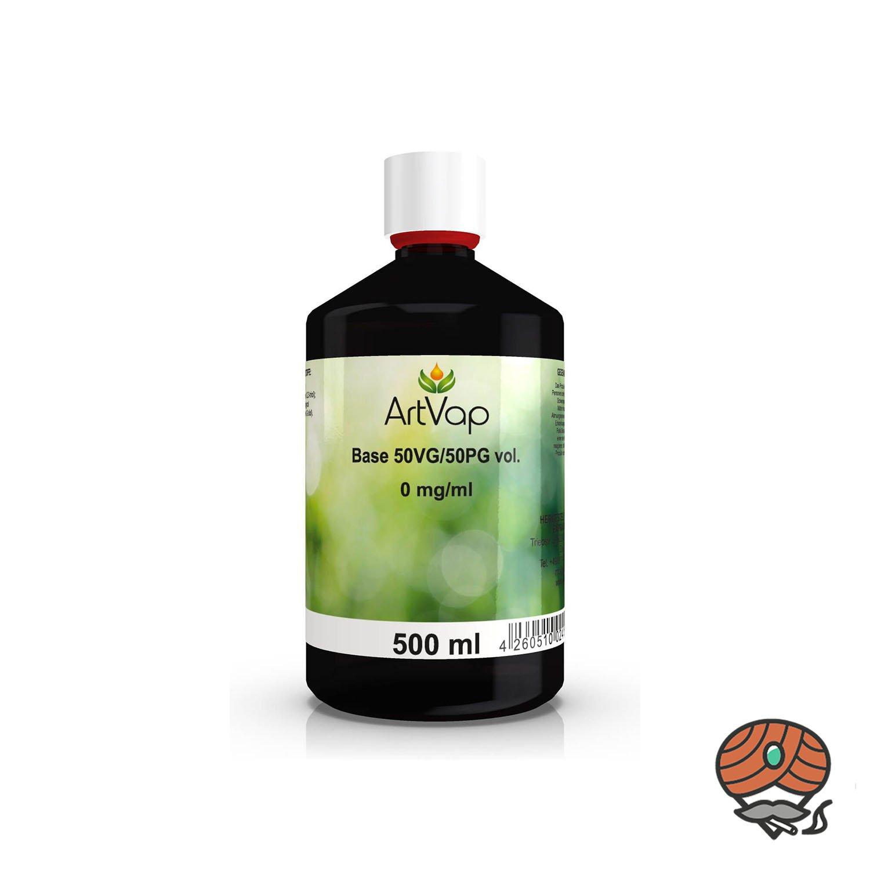 ArtVap Base 50 VG / 50 PG 500 ml