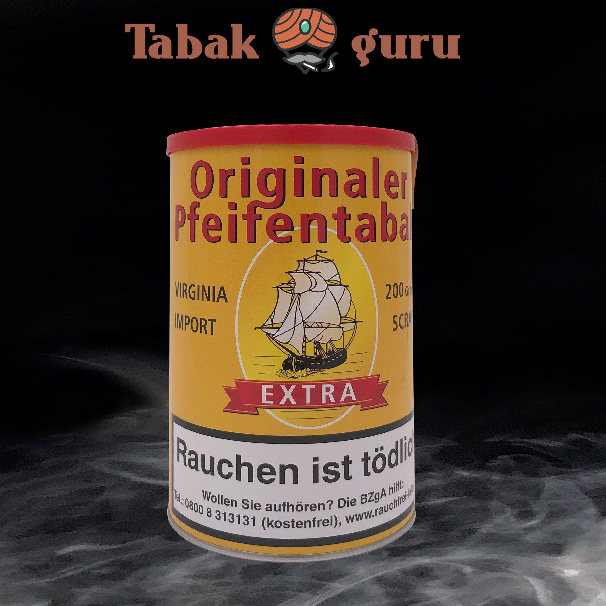 Originaler Pfeifentabak Extra Inhalt 200g
