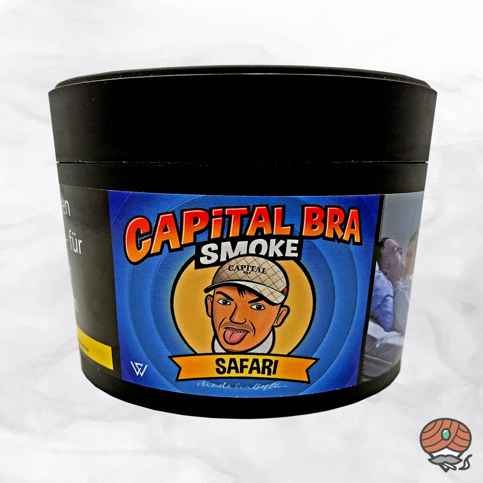 Capital Bra Smoke Shisha Tabak - Safari 200g