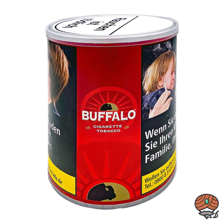 Buffalo Red / Rot Feinschnitt Zigarettentabak / Drehtabak 150g Dose