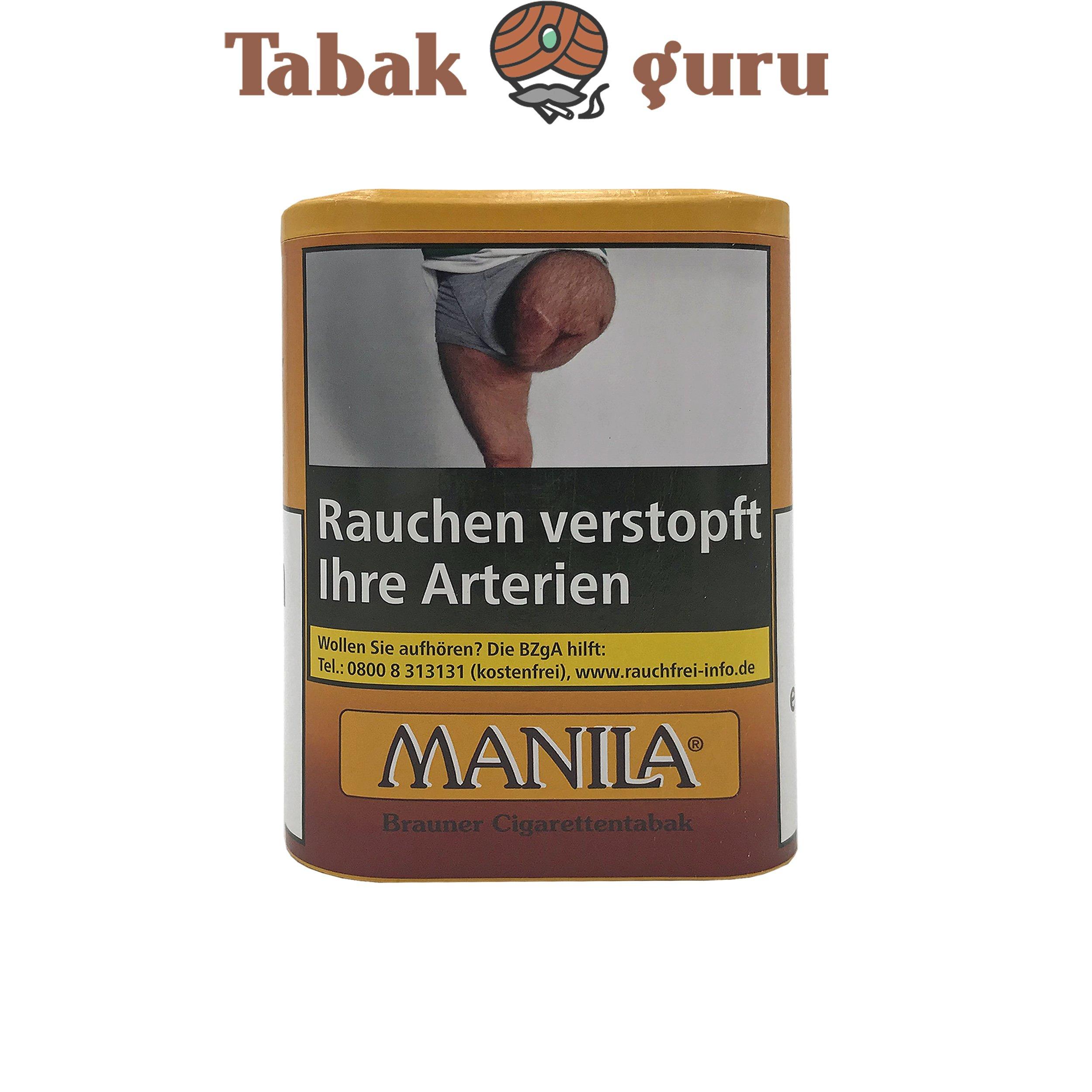 Manila Feinschnitt Zigarettentabak  Dose á 200g