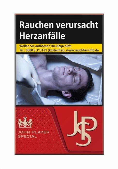 JPS / John Player Special Red Zigaretten 20 Stück