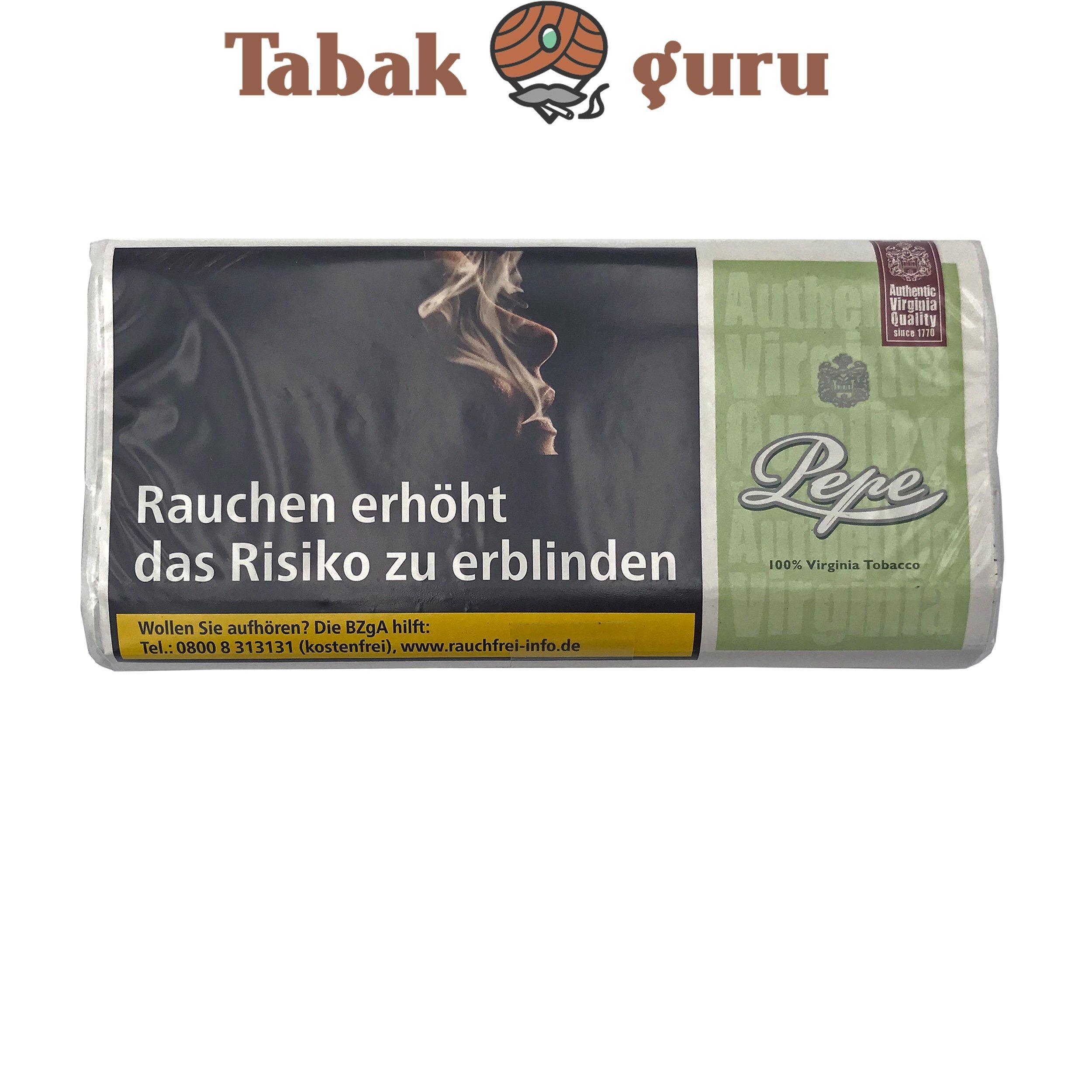 Pepe Bright Green (ehem. Easy Green) 30g Drehtabak Zigarettentabak