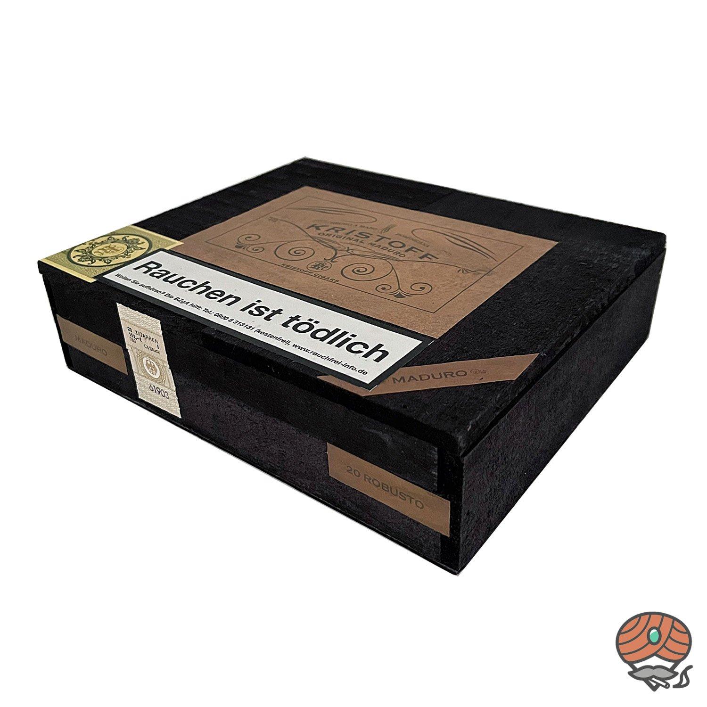 Kristoff Original Maduro Robusto Zigarre Dominikanische Republik 20er Kiste