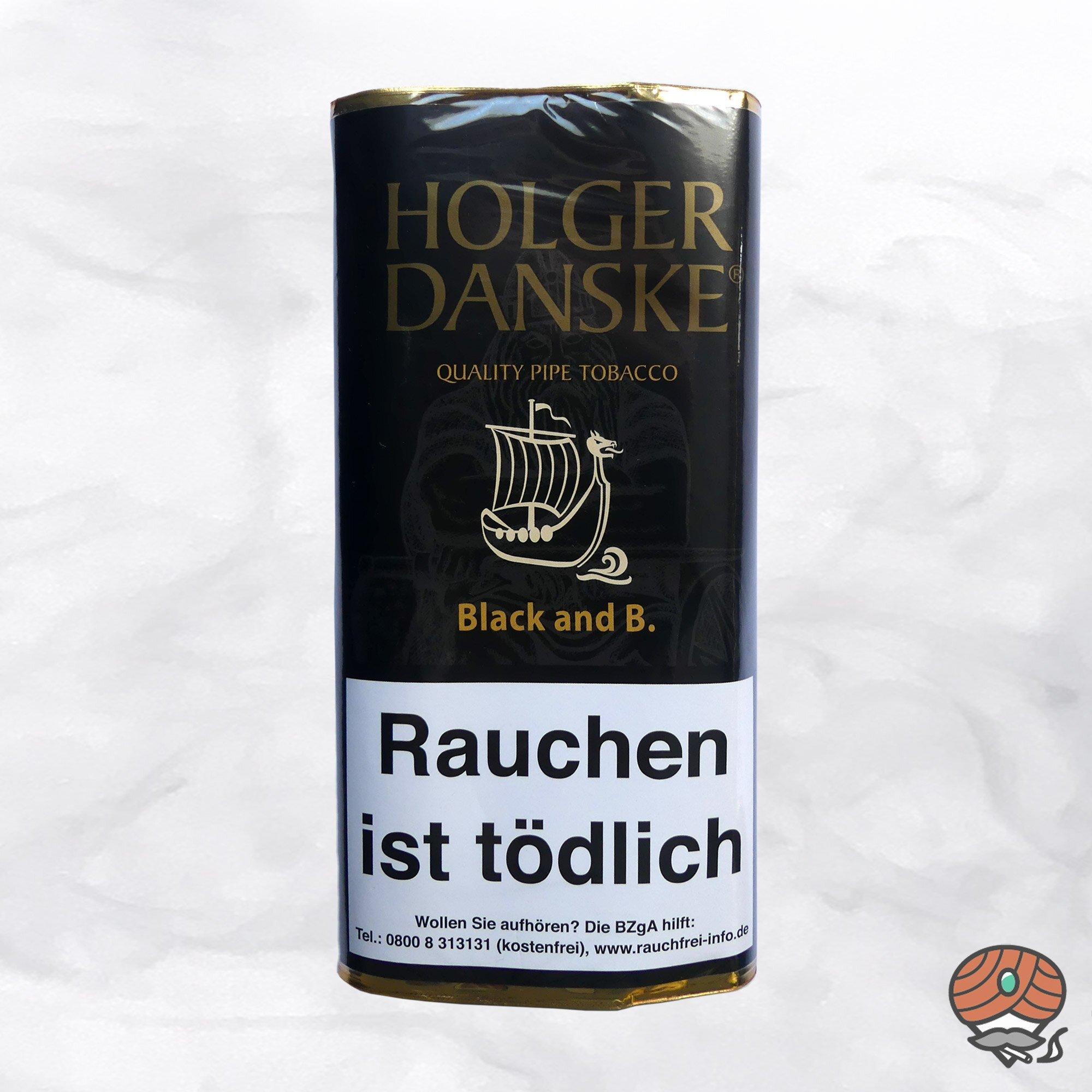 Holger Danske Black and Bourbon Pfeifentabak 40 g Pouch