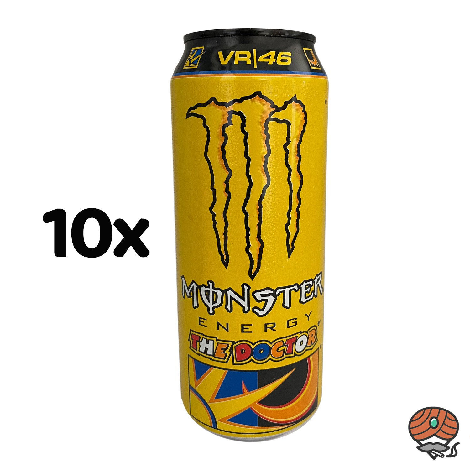 10 x Monster The Doctor, Energy Drink, 500 ml Dose