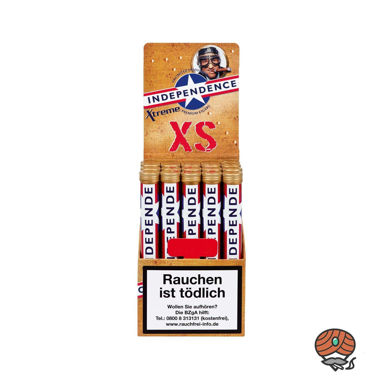Independence Xtreme XS Tubes (ehemals Vanilla) Premium 20 Zigarren