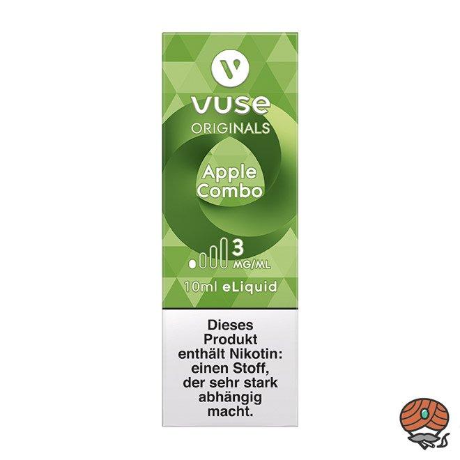 Vuse eLiquid Bottle Apple Combo 3 mg/ml (ehem. Vype Apple Custard)