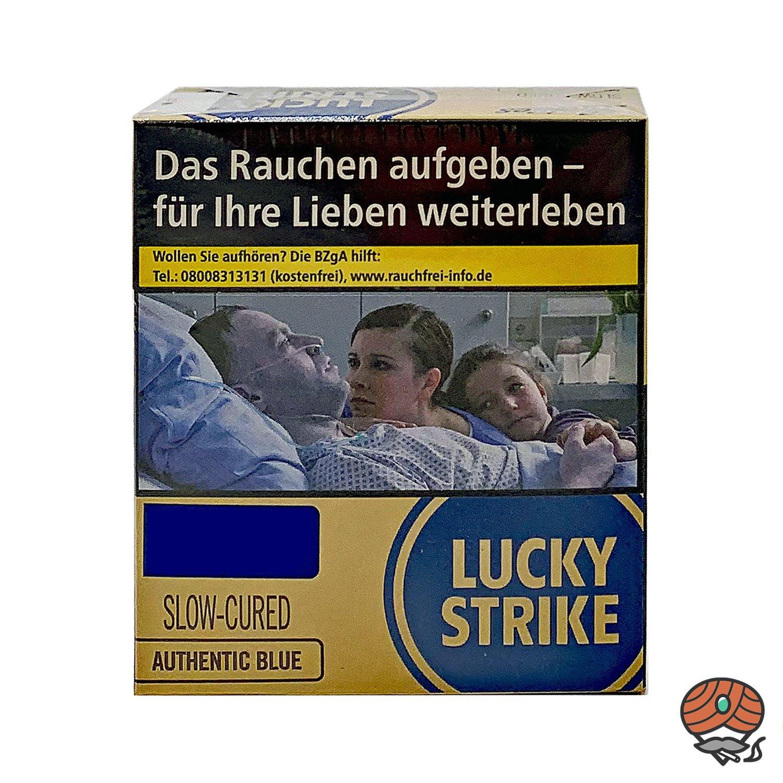 Lucky Strike Authentic Blue Zigaretten ohne Zusätze XXL 23 Stück