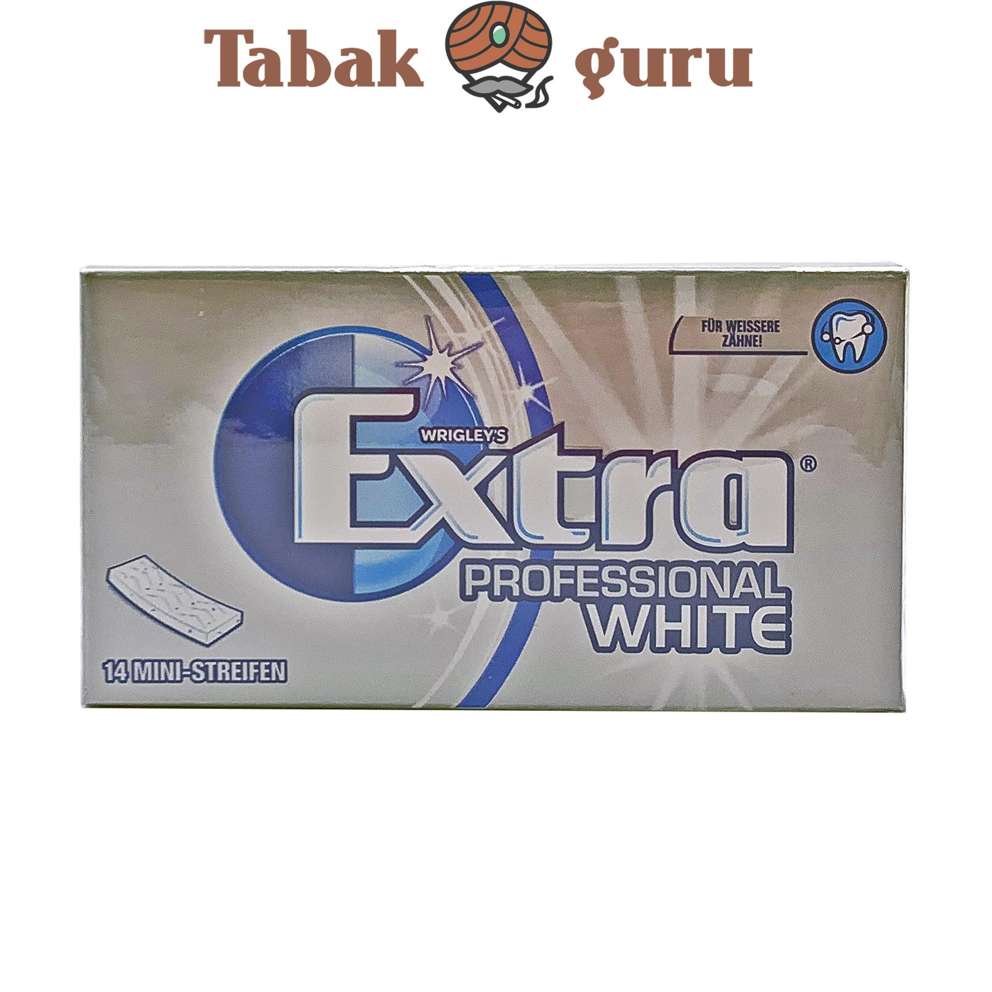 Wrigley`s Extra Professional White Geschmack Inhalt 14 Ministreifen