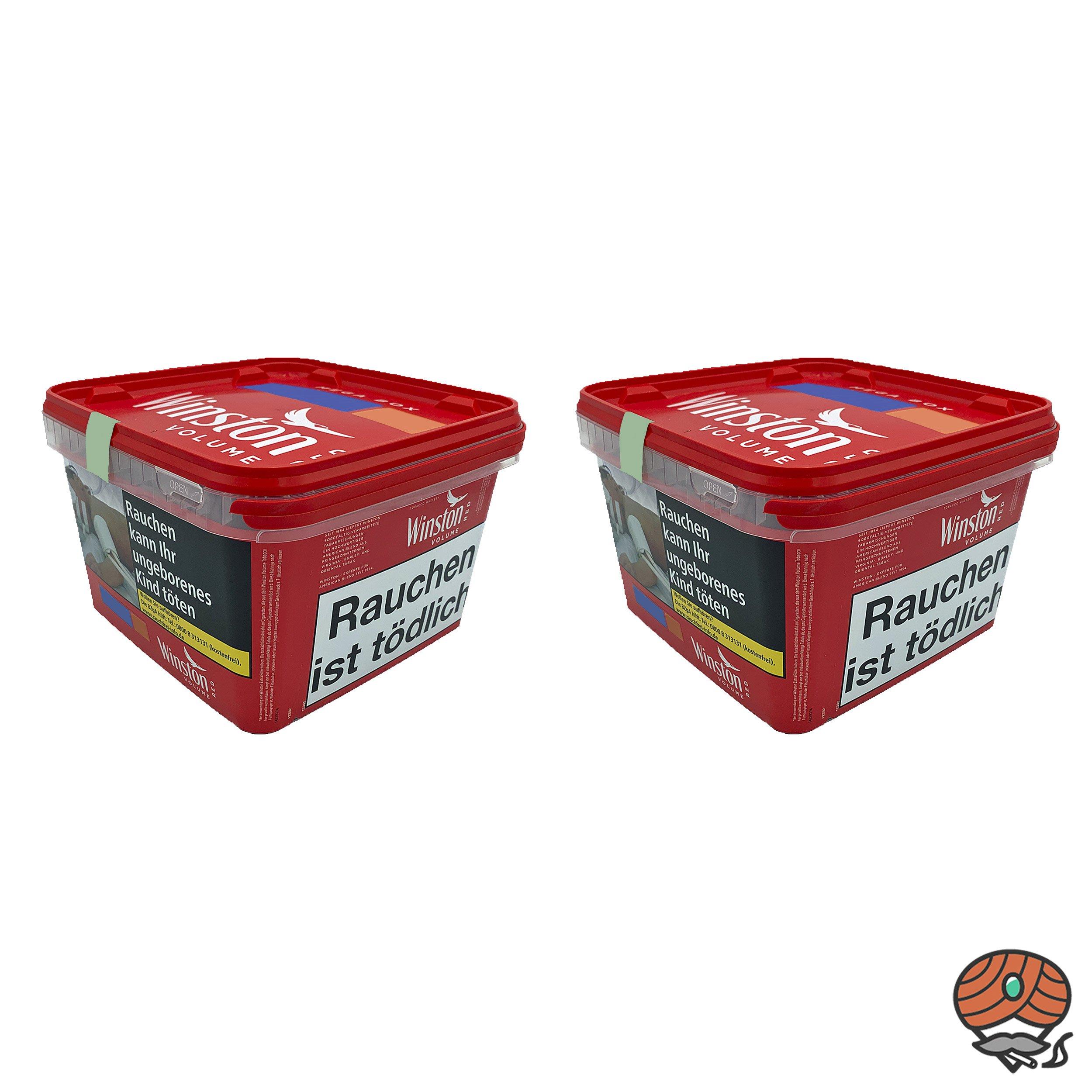 2x Winston Tabak Mega Boxes 170g