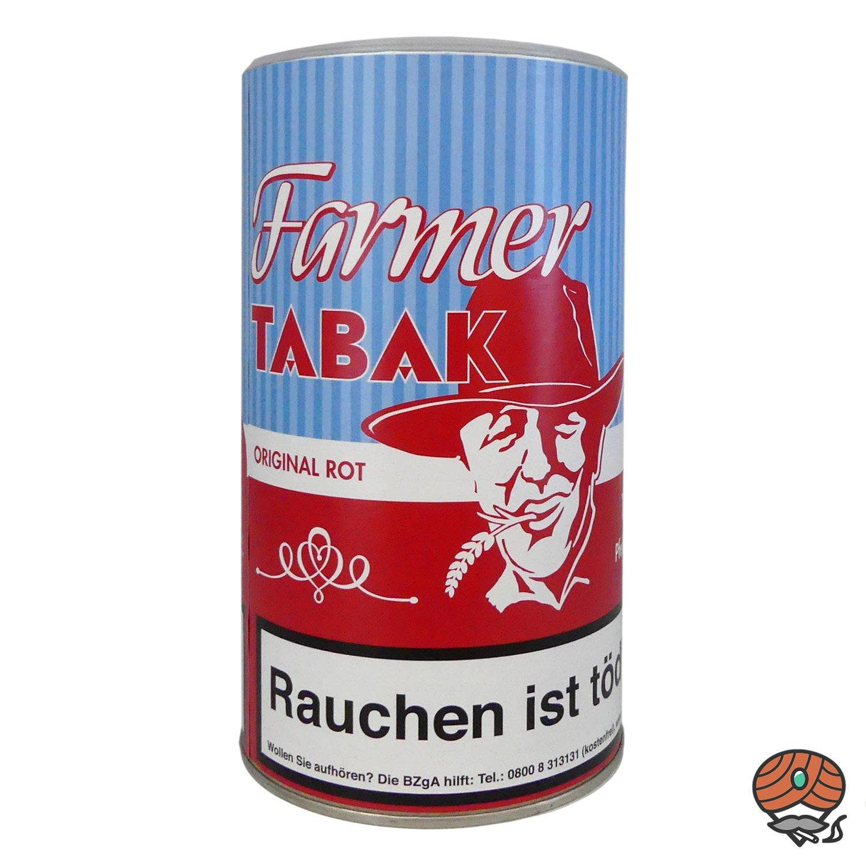 Farmer Original Rot Tabak Pfeifentabak / Stopftabak 170 g Dose