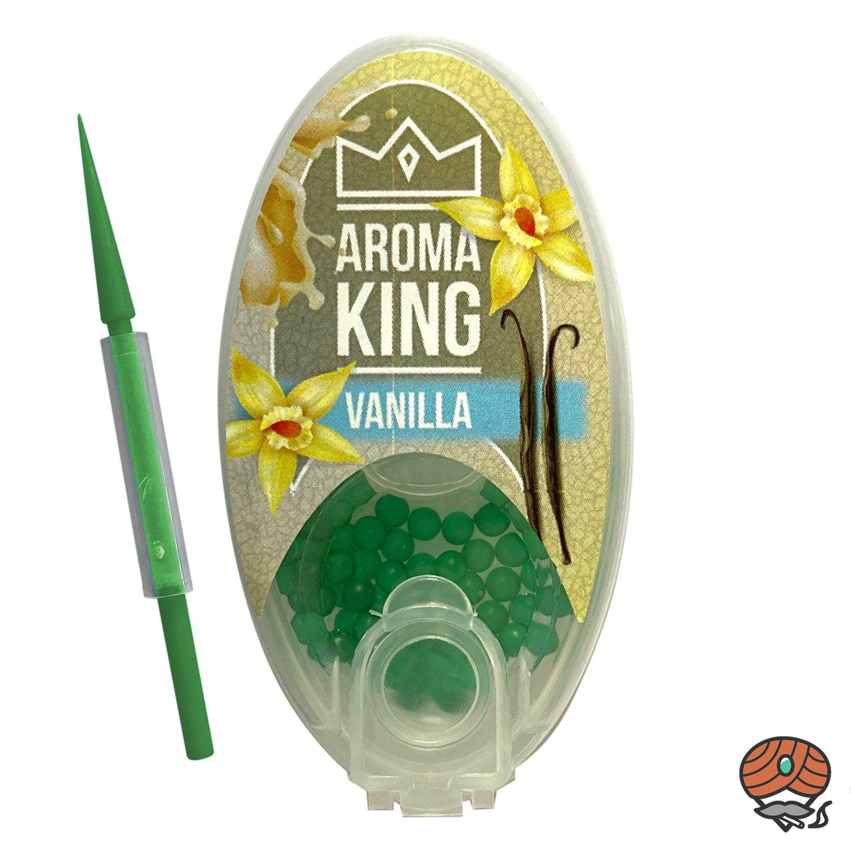 Aroma King Aromakapseln für Filterzigaretten - VANILLA Dose à 100 Kapseln