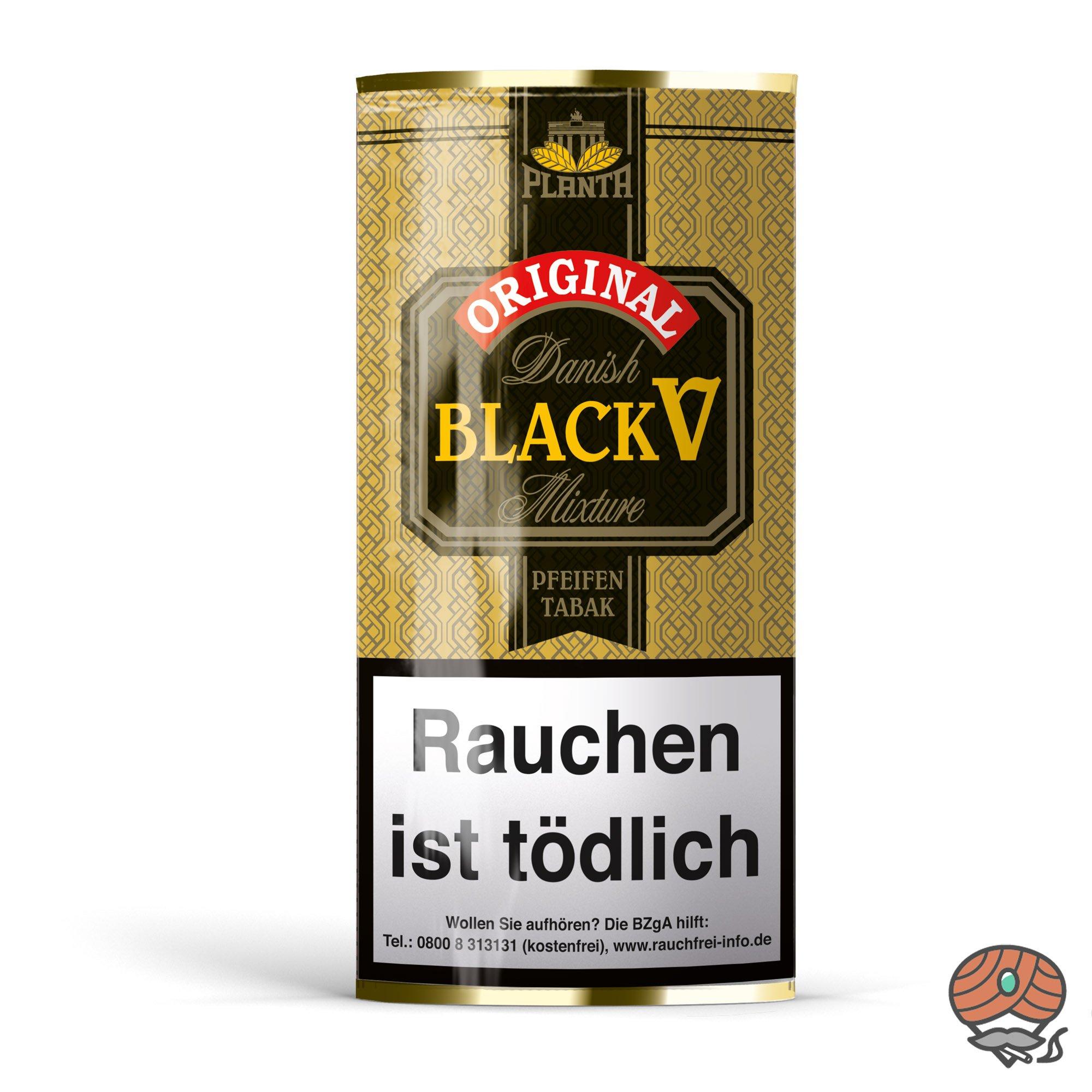 Danish Black V Pfeifentabak Vanille Aroma 40g Beutel