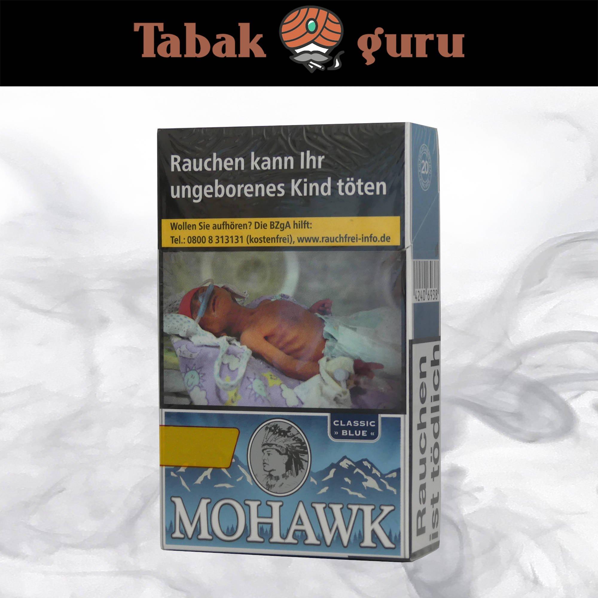 Mohawk Classic Blue Filterzigaretten