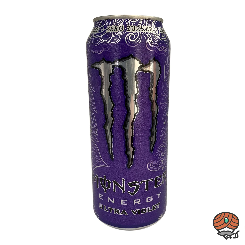 Monster Ultra Violet (Zero Zucker) Energy Drink, 500 ml Dose