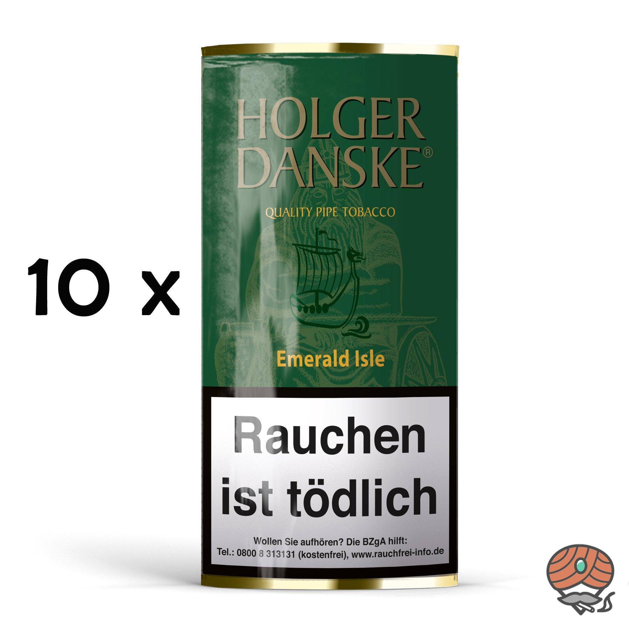 10x Holger Danske Emerald Isle Pfeifentabak à 40g