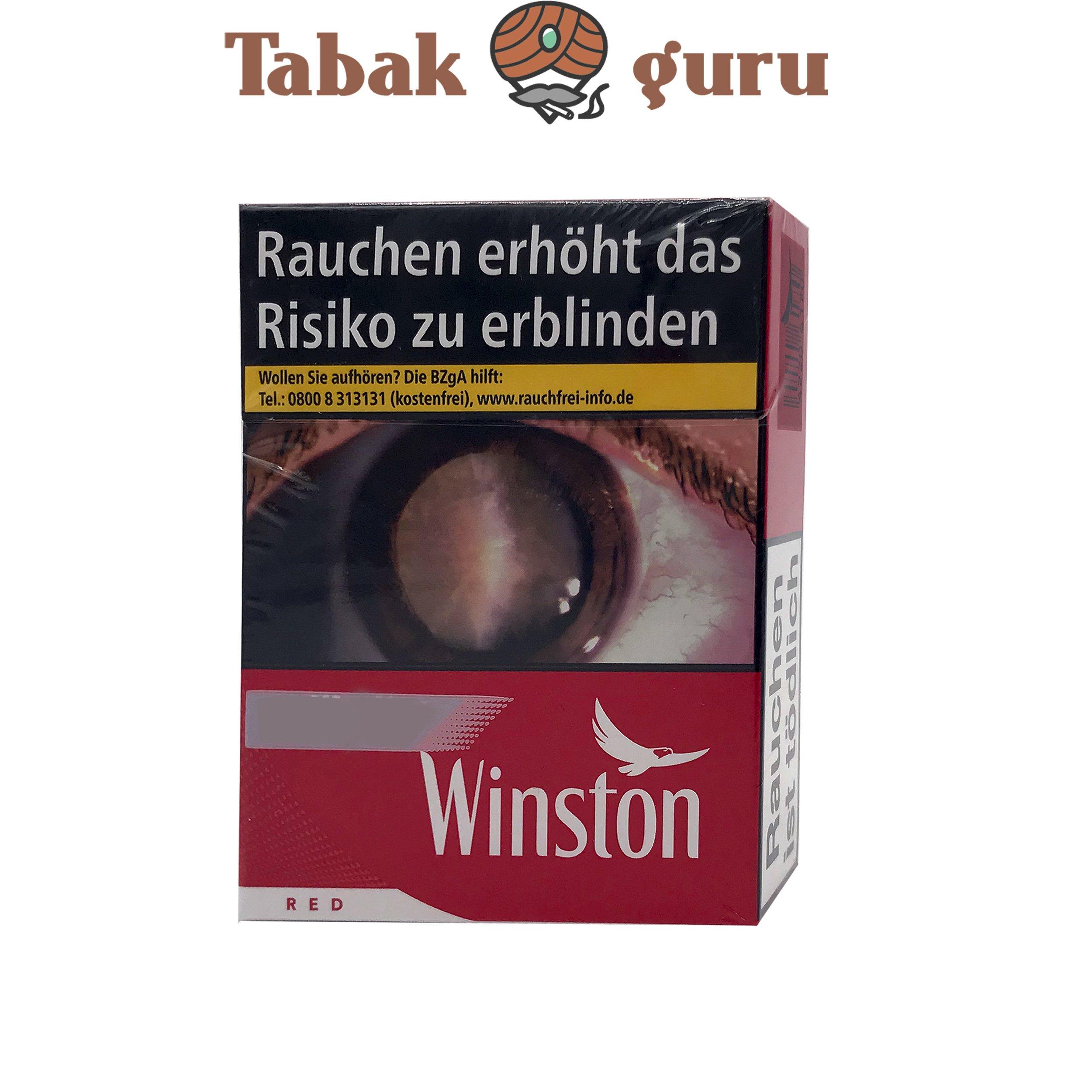 Winston Red Classic XL Zigaretten 22 Stück