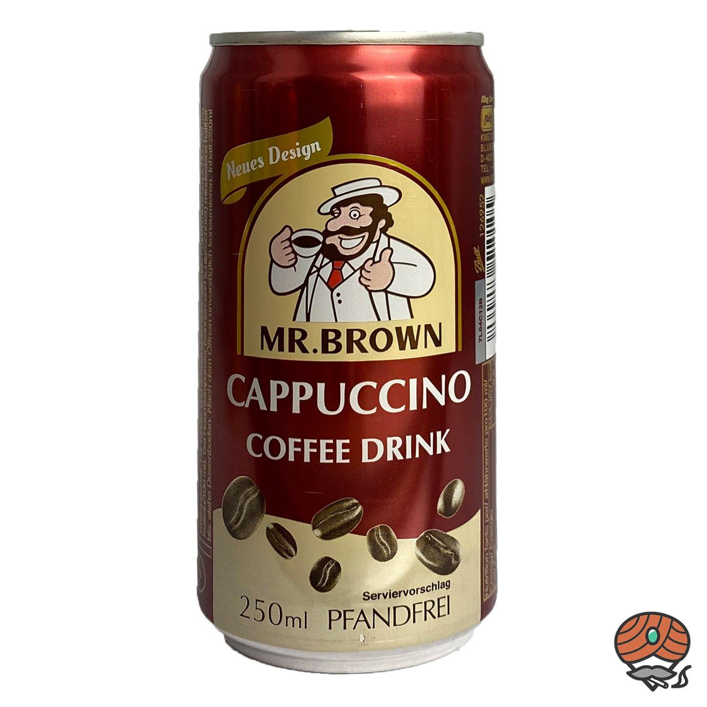 Mr. Brown, Cappuccino, Kaffeegetränk, 250 ml Dose