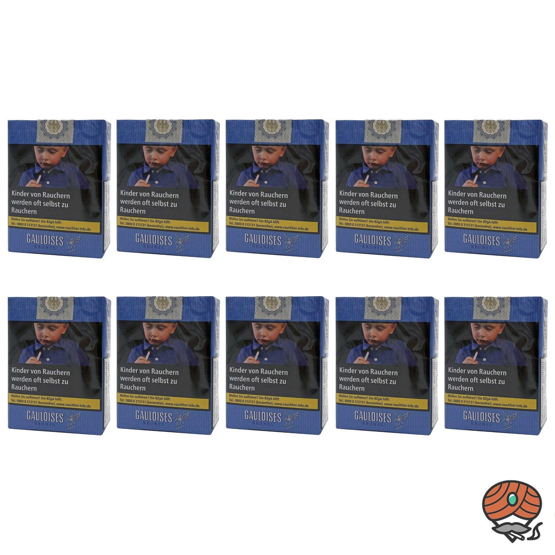 1 Stange Gauloises Brunes Zigaretten OHNE Filter Softpack 10x20 Stück
