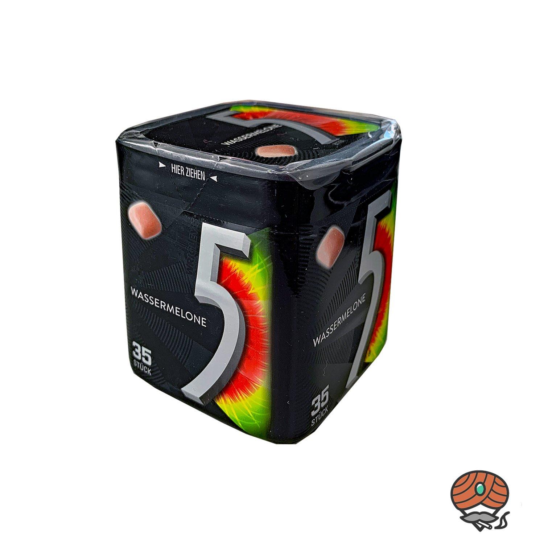 5 Gum Wassermelone Cubes Kaugummi à 35 Stück