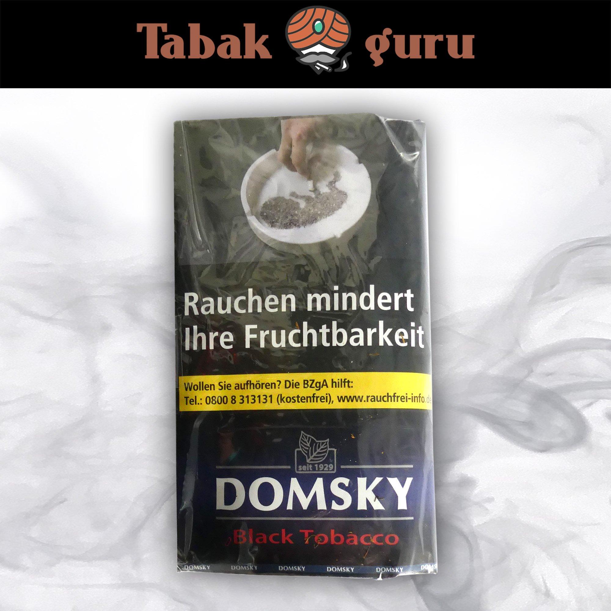 DOMSKY Black Tobacco Drehtabak 40 g