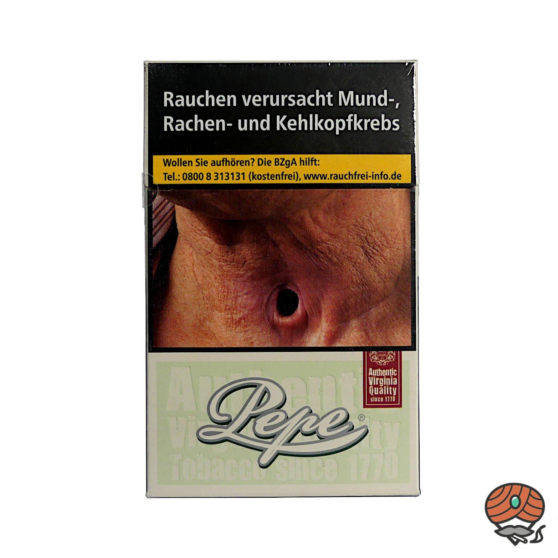 Pepe Fine Green Zigaretten ohne Zusätze Inhalt 20 Stück