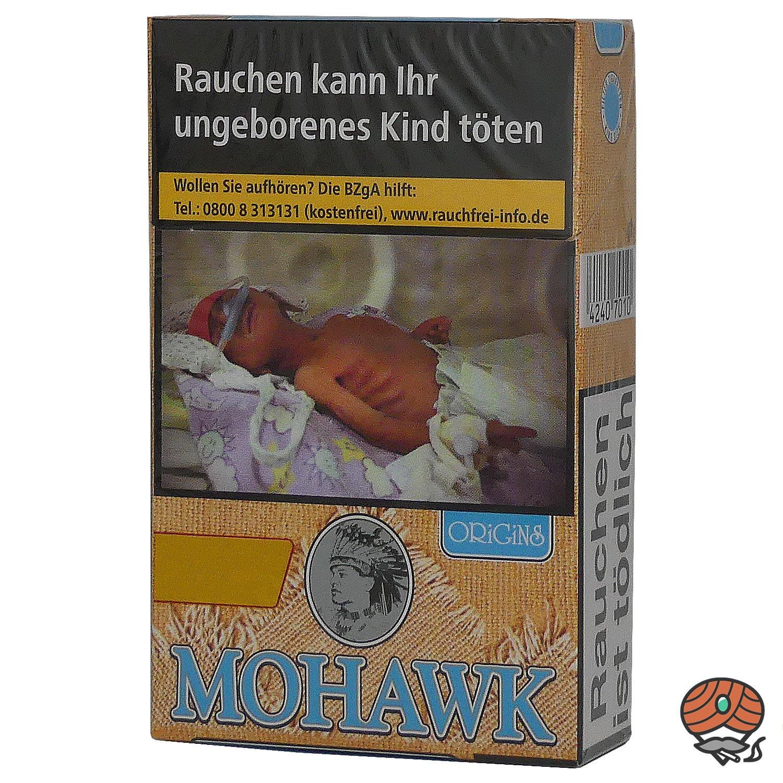 Mohawk Origins Blue Filterzigaretten OP 20 Stück