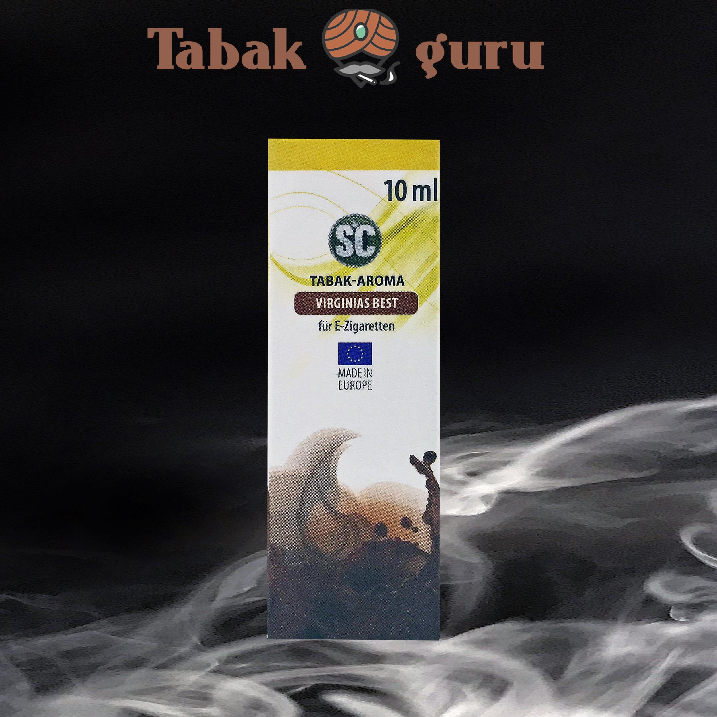 SC Virginias Best Tabak Aroma á 10 ml