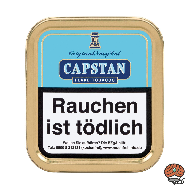 Capstan Original Navy Cut Flake Tobacco Pfeifentabak 50 g