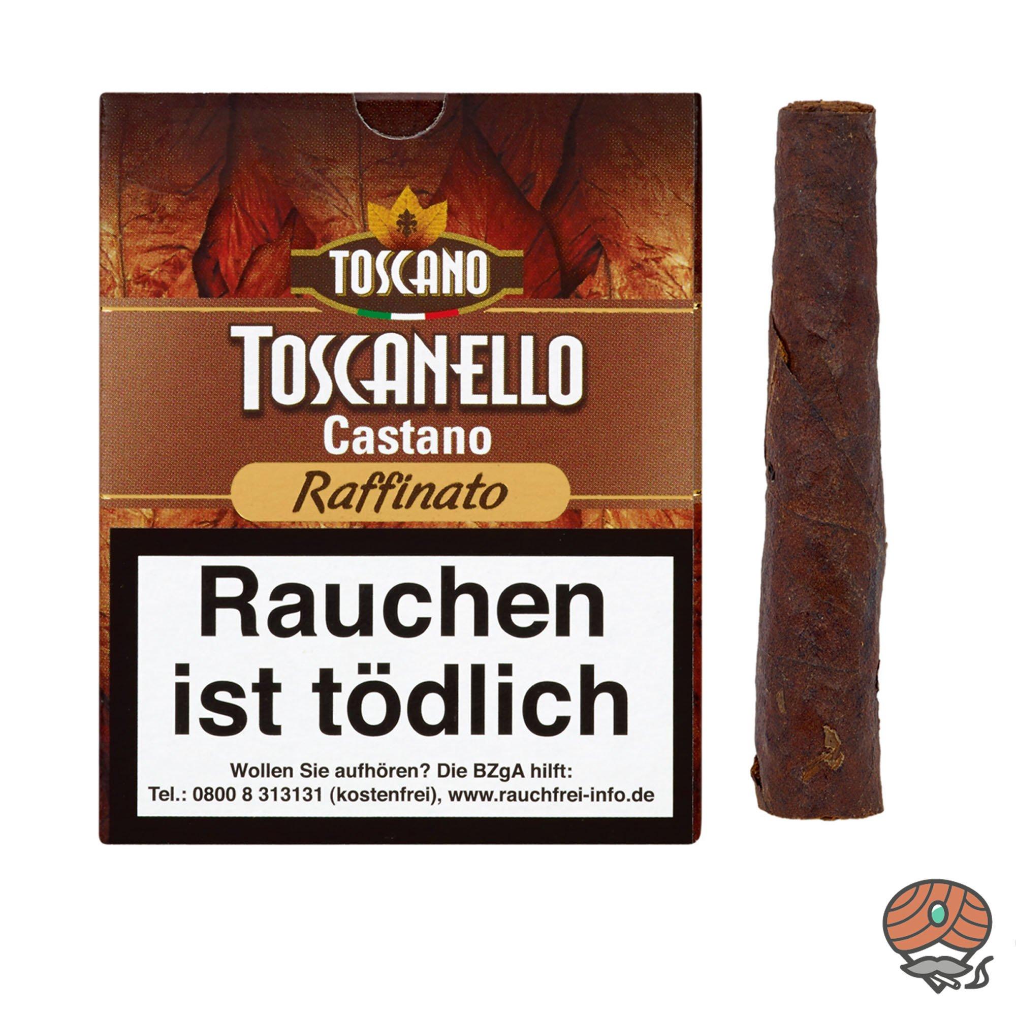 Toscanello Castano Raffinato Zigarren (geröstete Haselnuss) 5 Stück