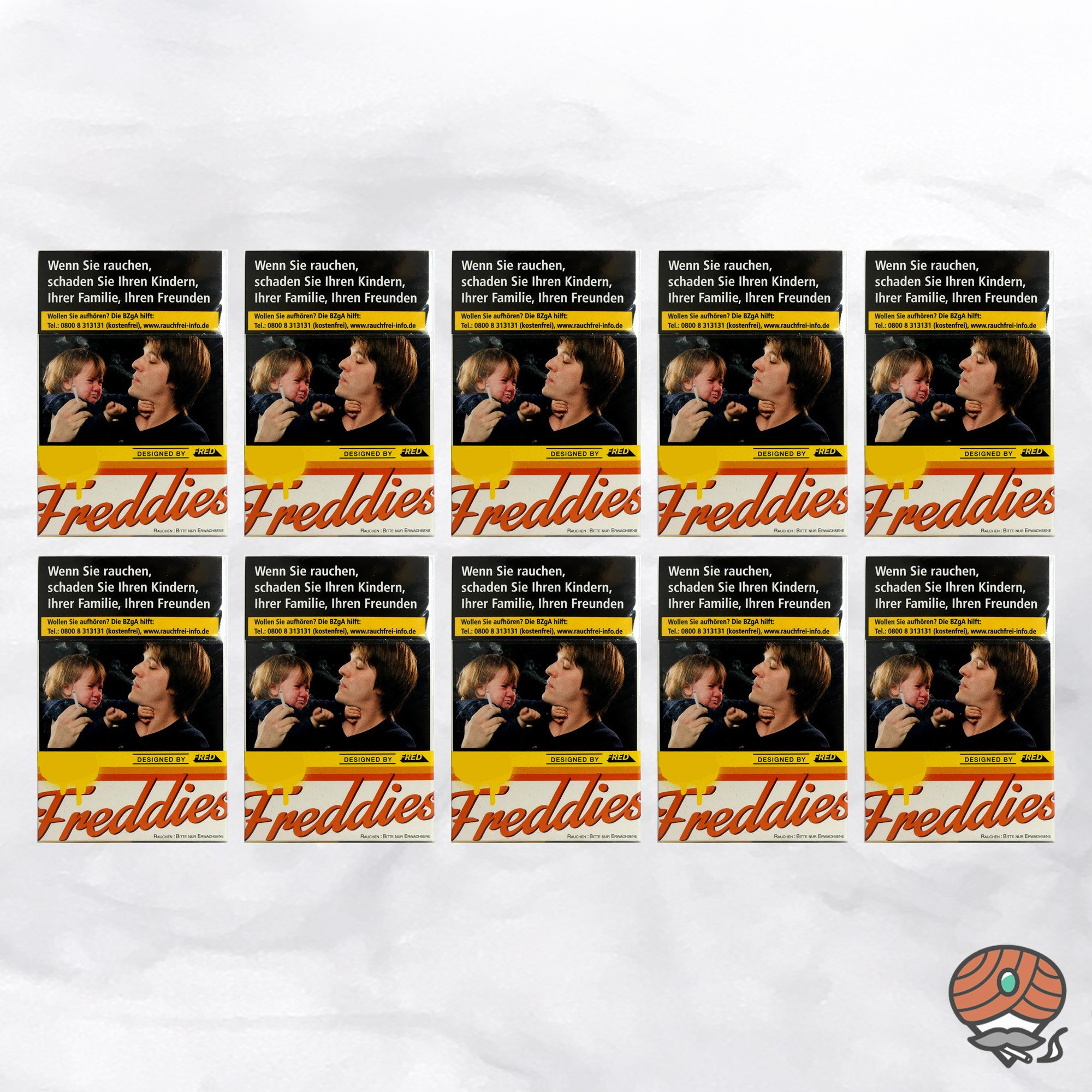 10 x Freddies Zigaretten à 20 Stück - 1 Stange