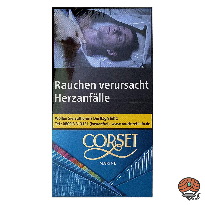 CORSET MARINE 100er Slim Zigaretten, 20 Stück