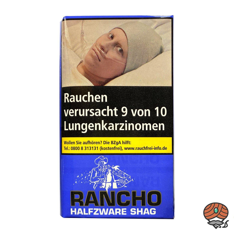 Rancho Halfzware Shag Zigarettentabak 40 g Pouch