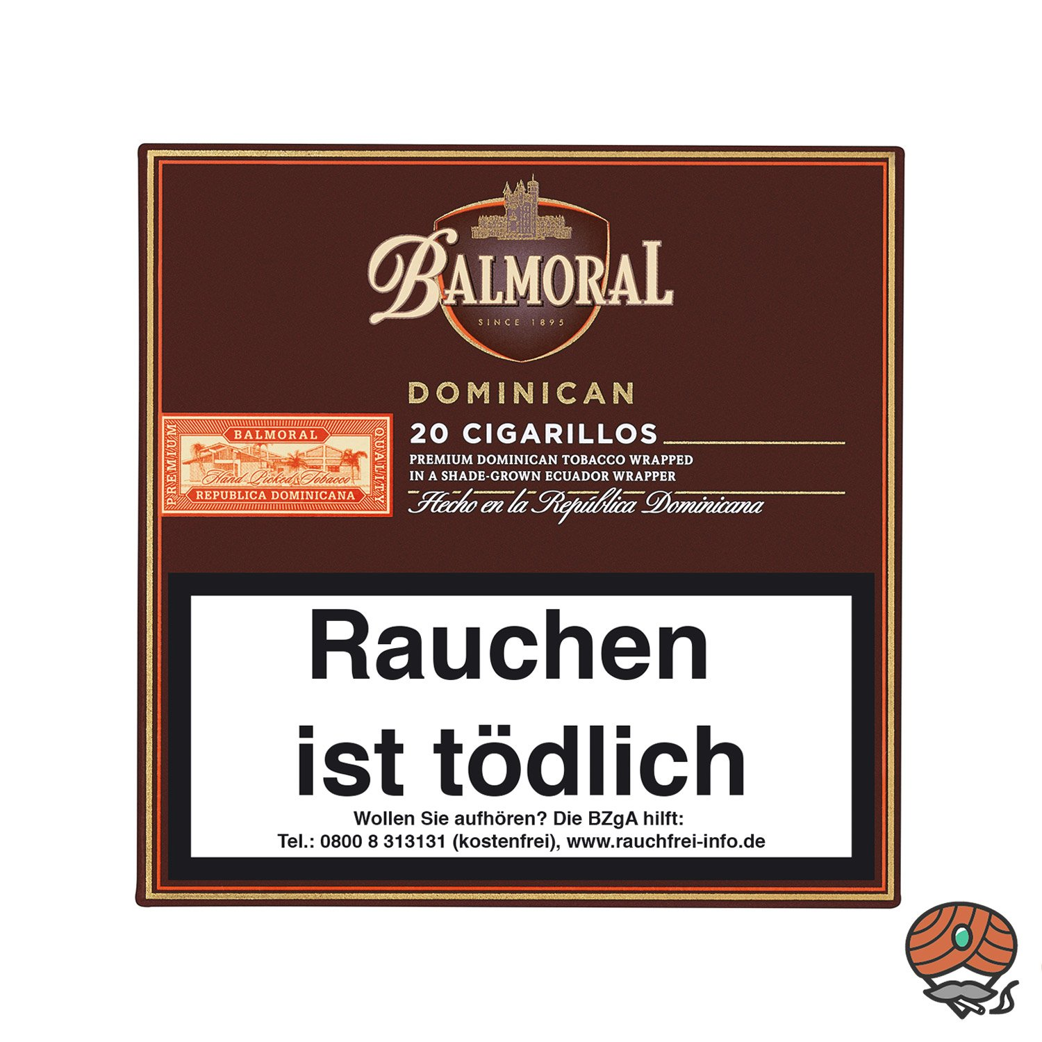 Balmoral Dominican Selection Cigarillo/Zigarillo, 20 Stück