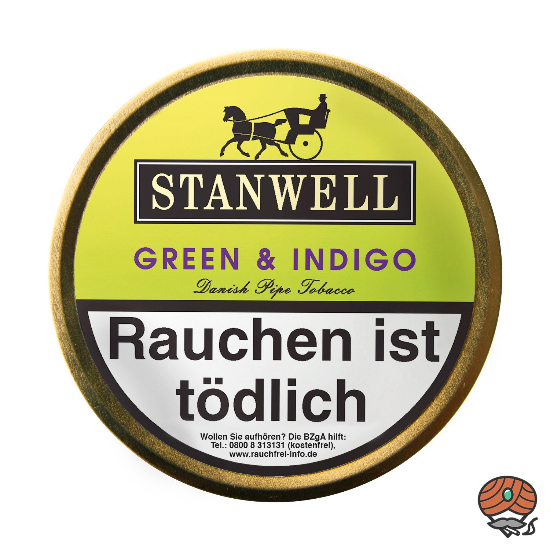Stanwell Green & Indigo Pfeifentabak 50g Dose