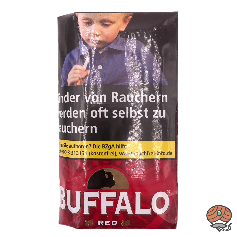 Buffalo Red Feinschnitt Drehtabak 40g Pouch