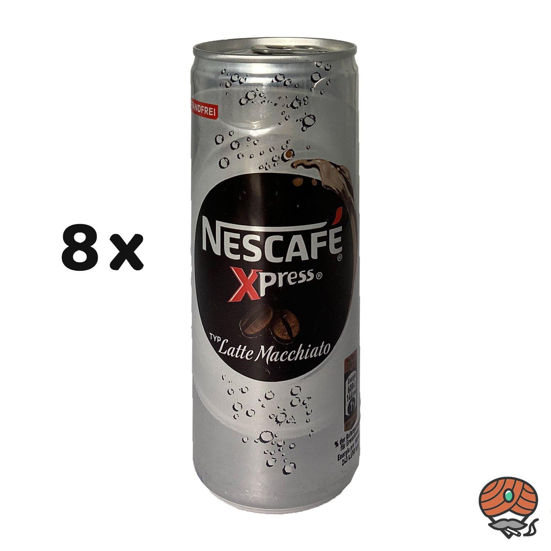 8 x Nescafé Xpress Typ Latte Macchiato, 250 ml Dose