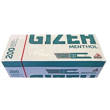 200 Gizeh Menthol King Size Filterhülsen