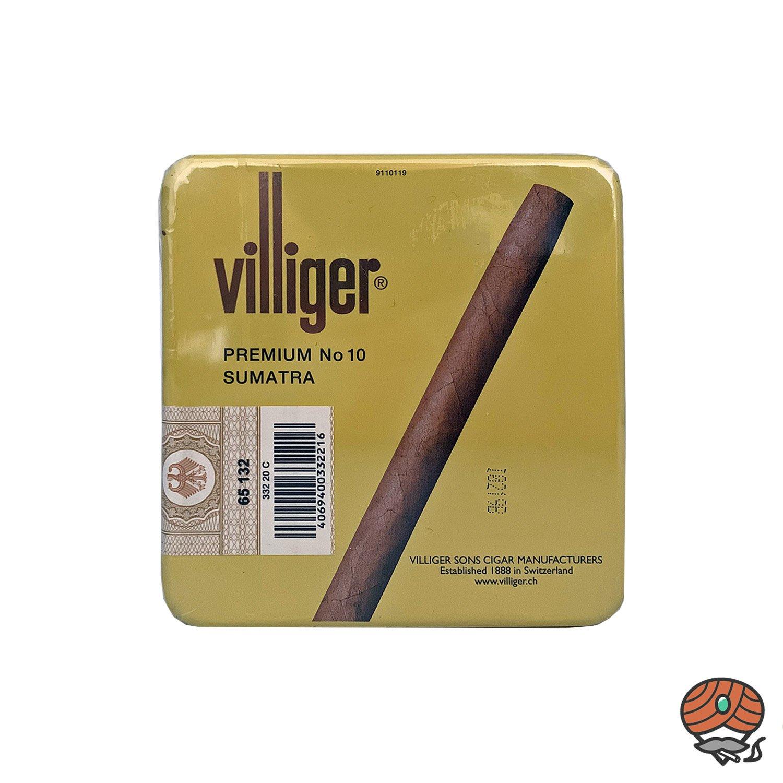 Villiger Premium Sumatra No. 10 Zigarillos