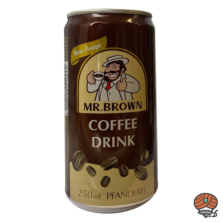 Mr. Brown, Coffee Drink, 250 ml Dose