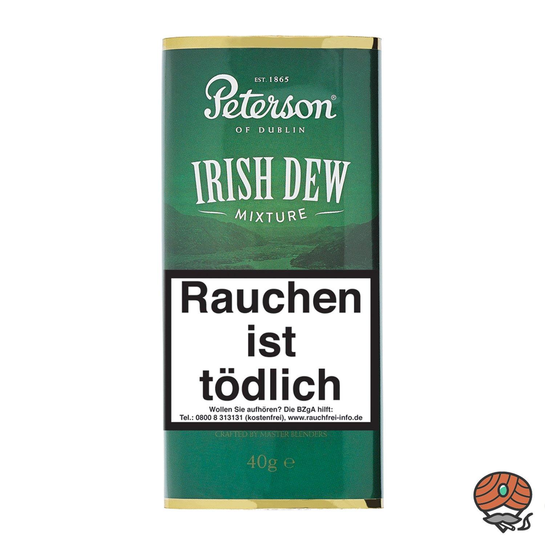 Peterson Irish Dew Pfeifentabak 40g Pouch / Beutel