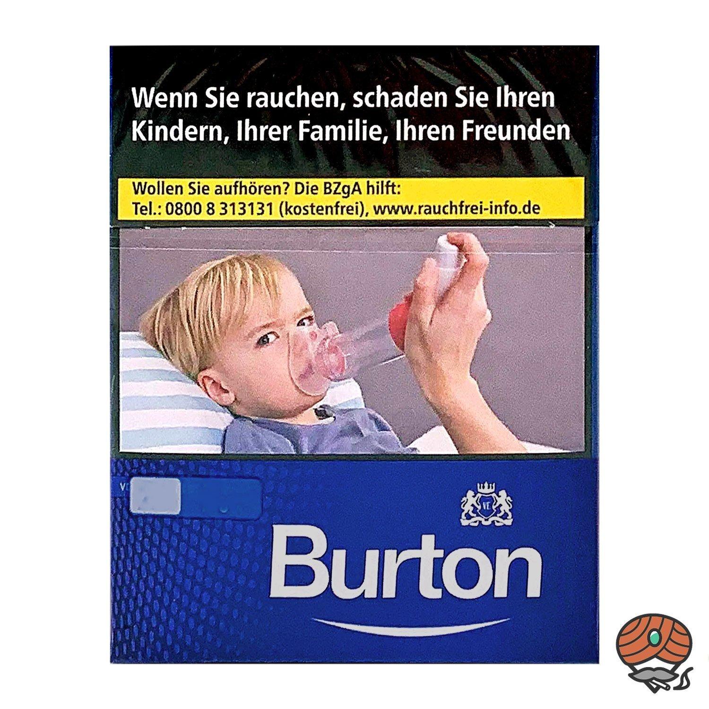 Burton Blue / Blau (ehem. White) Zigaretten XL Schachtel 24 Stück