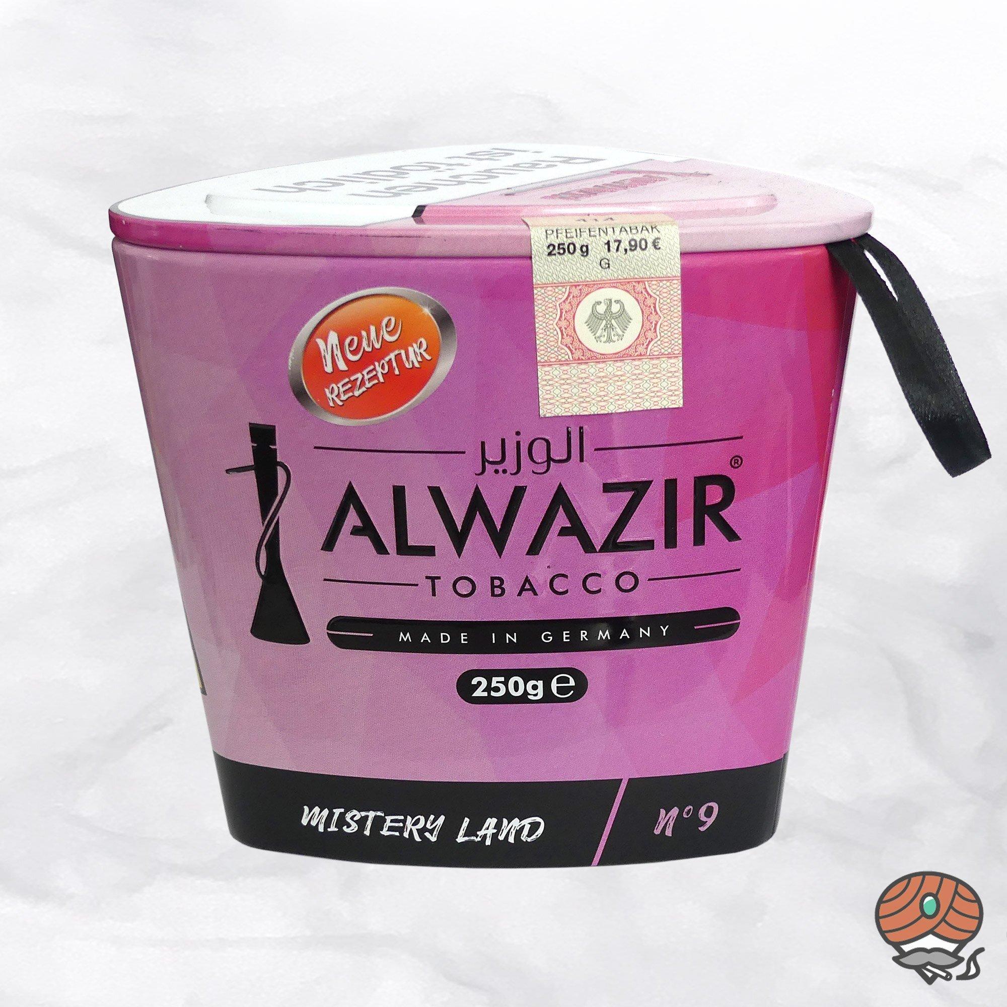 Alwazir Shisha Tabak - No. 9 - MISTERY LAND 250g