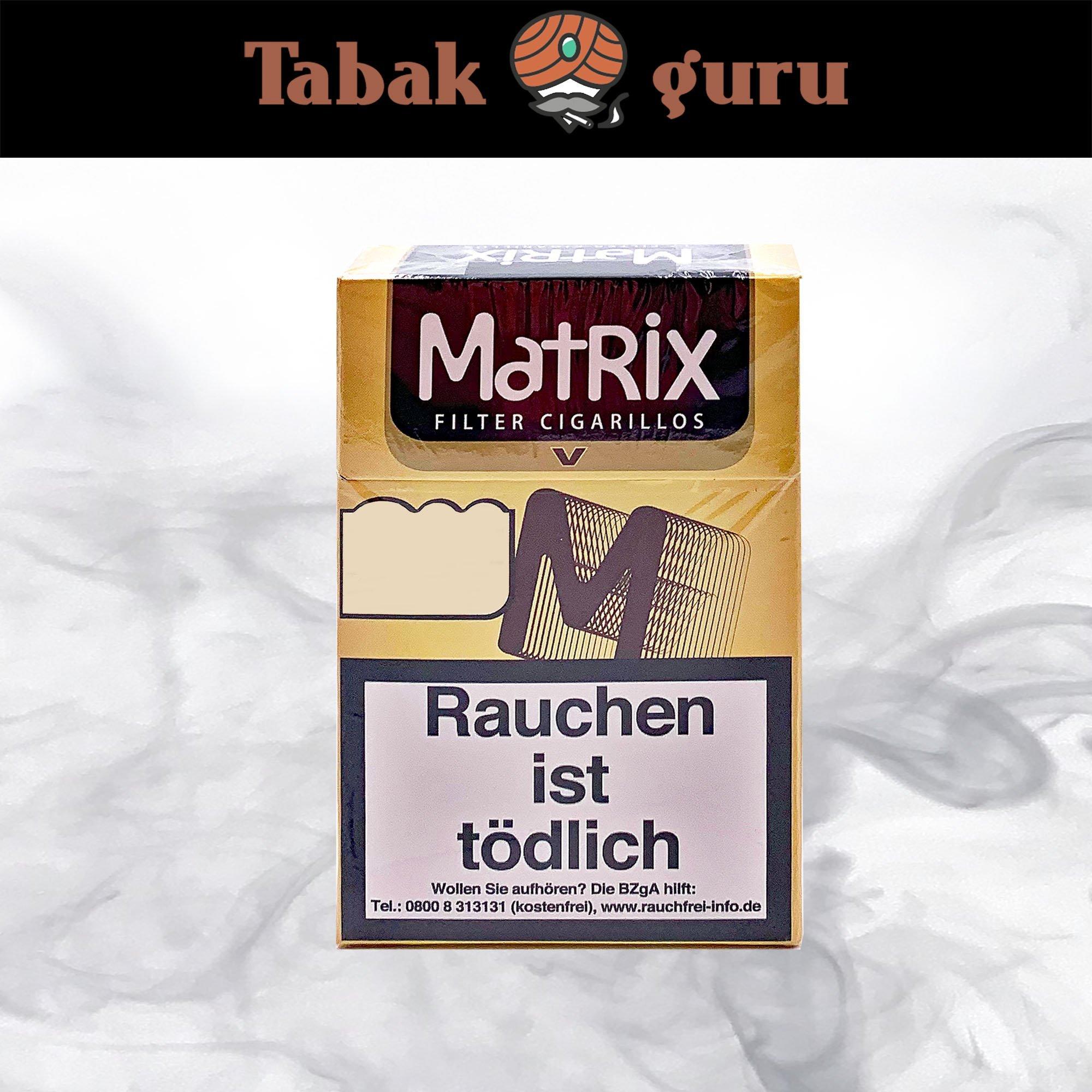 Matrix V (Vanilla) Filterzigarillos Inhalt 17 Stück